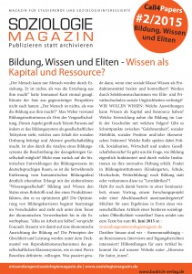 CfP Bildung Deutsch
