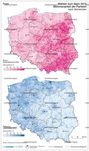 Wahlen zum Sejm, 2015
